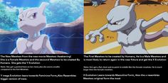 """lumera: """"Theory I had for a while, it makes sense since they gave the y evolution to the female mewtwo, so the first Mewtwo we know which is male will possibly get the X evolution in a new movie or. Mew And Mewtwo, Pokemon Mewtwo, Cool Pokemon, Pokemon Stuff, Powerful Pokemon, Gotta Catch Them All, Anime Characters, Fictional Characters, New Movies"""