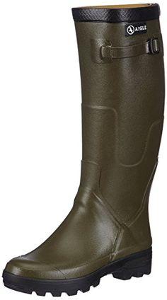 Parcours 2 Iso- Chaussure de chasse - mixte adulte - Vert (Kaki) - 36 EUAigle 29858WB