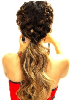 hairstyles for boys hairstyles directions braided hairstyles braided hairstyles for natural hair hairstyles guide hairstyles up in a ponytail hairstyles guys hairstyles for men Cute Ponytail Hairstyles, Cute Ponytails, Pretty Hairstyles, Mohawk Hairstyles, Hairstyle Braid, Hairstyle Ideas, Spring Hairstyles, Hairstyles 2018, Hairstyles For The Gym