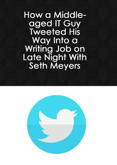 Tweeting your way to a job.