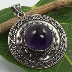 What is 925 Sterling Silver? We pride ourselves with a collection of jewelry that has. Specialized elegant hand-made and fine designer jewelry. Amethyst Pendant, Amethyst Gemstone, Handmade Art, Handmade Silver, Gem Diamonds, Pendant Jewelry, Gemstone Jewelry, Sterling Silver Pendants, Fine Jewelry