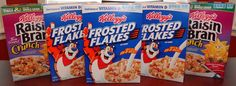 $3.82 for 5 boxes of cereal at Publix last week! Vitamin D, Coupons, Cereal, Grains, Boxes, Breakfast, Food, Morning Coffee, Crates