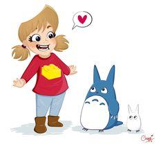 Victoire et Totoro !