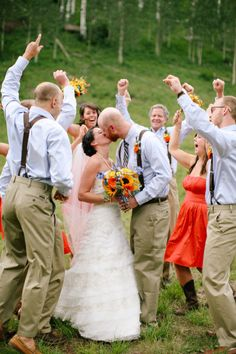 Fun Bridal Party Photo.
