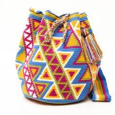 New Handmade  Guajira Mochila Bags – www.WAYUUTRIBE.com $108.00