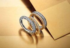 Stunning ring stack for New Year's Eve. #PANDORA #PANDORAring