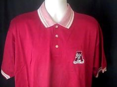 ALABAMA CRIMSON TIDE Pro Edge L Mens Red White Shirt  New Old Stock #proedge #AlabamaCrimsonTide