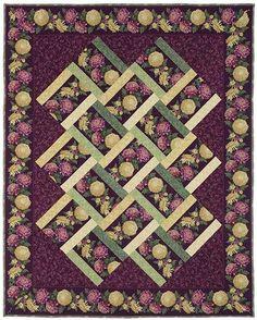 Woven Garden Quilt Kit   Keepsake Quilting