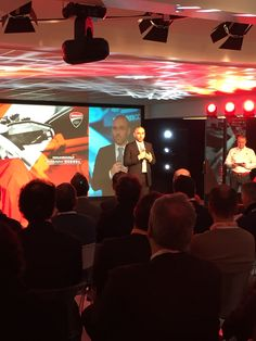 Intervento di Stefano Cecconi, AD di Aruba, all'evento di presentazione del Team Aruba.it Racing - Ducati Superbike 2015