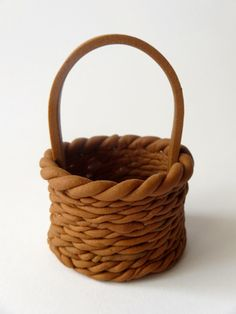 Fondant basket tutorial