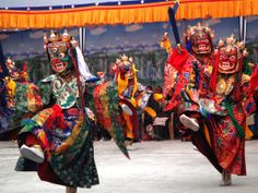 Cham Mask Dance- Festival of Nepal