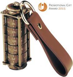 Cryptex, Antique gold USB flash drive, 16 Gb