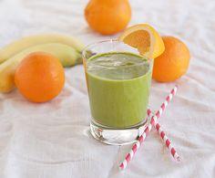 Op zoek naar een groene smoothie die je weestand versterkt? Probeer dan onzeOranje Spinazie Smoothie, een echte weerstand booster!