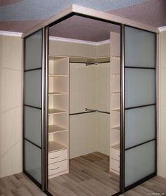 Corner Wardrobe, Wardrobe Room, Wardrobe Design Bedroom, Bedroom Closet Design, Girl Bedroom Designs, Room Ideas Bedroom, Home Room Design, Small Room Bedroom, Closet Designs