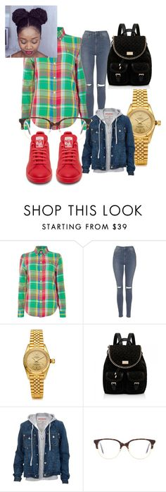 """""""Untitled #42"""" by twisted-membrane on Polyvore featuring Polo Ralph Lauren, Topshop, Rolex, Forever New, True Religion and Victoria Beckham"""