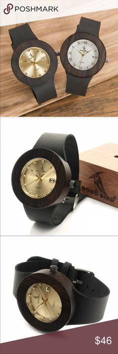 Bobo Bird Natural wooden and leather Quartz watch Details Bobo Bird Accessories Watches