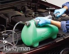Extend the life of your engine by changing transmission fluid. It's much easier by using a special pump, and you'll save $100 in shop costs when you do it yourself. We show you what you need and how to do it.