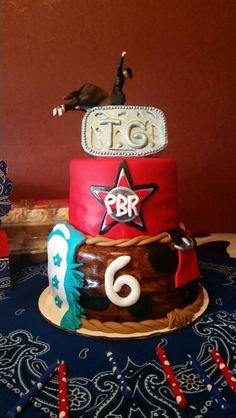 Mrs Lydias Kitchen Rodeo Birthday Cake Food Pinterest