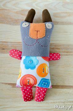 Cat sewn mascot