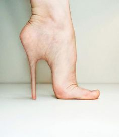 what my foot should probably look like