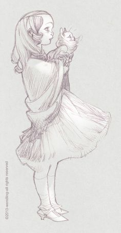 another kind of alice, personal sketch