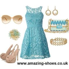 Pretty outfit from www.amazing-shoes.co.uk