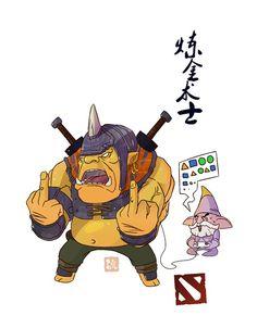 #Dota2 artwork Dota 2 T Shirt, Dota2 Funny, Defense Of The Ancients, Nerd Room, Dota 2 Wallpaper, Dota 2 Game, Star Wars Tattoo, Samurai Art, Game Concept Art