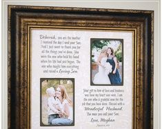 Parents Wedding Thank You Gift from Bride, Personalized Wedding Gift for Mother In Law from daughter # thank you Parenting Celebrating the Special Moments in Your LIfe by PhotoFrameOriginals Thank You Gift For Parents, Wedding Gifts For Parents, Wedding Thank You Gifts, Wedding Gifts For Groom, Personalized Wedding Gifts, Bride Gifts, Wedding Bride, Mother Of The Groom Gifts, Father Of The Bride