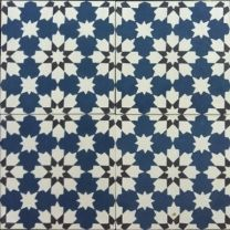 Moroccan & Encaustic Cement Tiles By Jatana Interiors Moroccan Print, Moroccan Design, Moroccan Tiles, Ceramic Floor Tiles, Cement Tiles, Classic Bathroom, Handmade Tiles, Style Tile, Painted Floors