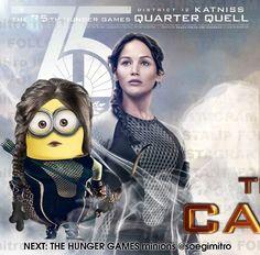 Minion Katniss - The Hunger Games http://multicitytoys.com