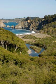 Northern California Beaches - Mendocino, CA