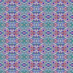 Butterfly, Diamond, Tulip Mash Up fabric by edsel2084 on Spoonflower - custom fabric