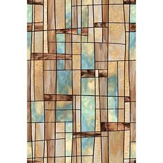 Artscape 24 in. x 36 in. City Lights Decorative Window at The Home Depot - window film for dogs who bark out the window Frosted Window Film, Stained Glass Window Film, Modern Stained Glass, Stained Glass Door, Bathroom Windows, Glass Bathroom, Bathroom Ideas, Home Depot, Film Home