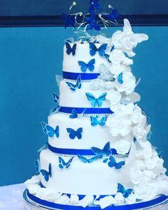54 Ideas Wedding Cakes Blue Royals Color Schemes For 2019 wedding Cakes blue – Wedding Fashions Diy Wedding Cake, Themed Wedding Cakes, Wedding Cake Designs, Wedding Cupcakes, Wedding Blue, Blue Weddings, Spring Weddings, Beach Weddings, Royal Blue Wedding Decorations