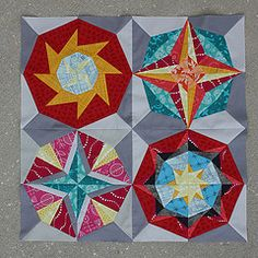 A Lucky Stars mini for the Minnesota Quilt Show   Flickr - Photo Sharing!