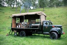 Rustic Mobile Campers - This Truck Adds Elements of Luxury to Mobile Camping (GALLERY)