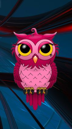 Hand-painted red owl PNG and Clipart Red Owl, Pink Owl, Cute Owl Cartoon, Cartoon Owl Drawing, Owl Png, Painted Rocks, Hand Painted, Owl Clip Art, Owl Wallpaper