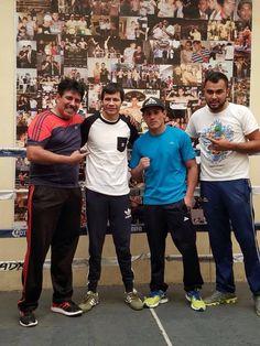 Los entrenamientos no se detienen para el boxeador juarense y Deportista Exclusivo de Pirma Brasil, Luis Miguel Mickey Román en Guadalajara, Jalisco ...