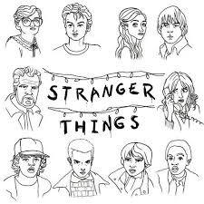 Stranger Things Dibujos Para Pintar Buscar Con Google Bocetos