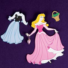 Aurora Paper Dress Up Doll