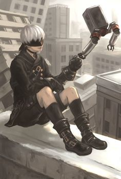 NieR: Automata ♥ 9s ♡ #PlayStation #Game #Yorha
