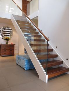 Glazed staircases modern-staircase
