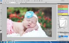 Great step by step editing tutorial! 5 Tips for Amazing Newborn Edits in Photoshop :: Inspire Me Baby