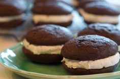 Classic Chocolate Whoopie Pies with Marshmallow Filling