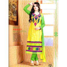 Designer Heavy Embroidery Salwar Kameez Dress Material