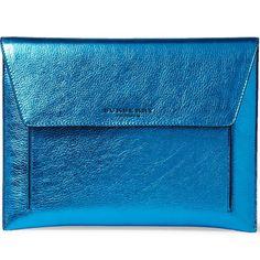 Fancy - Metallic Leather iPad Case by Burberry Prorsum
