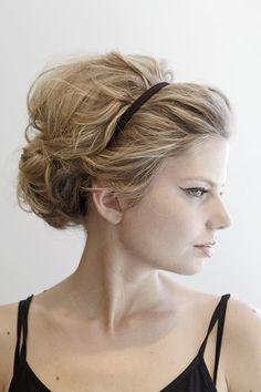 160 best Headband Hairstyles & Tutorials images on Pinterest ...