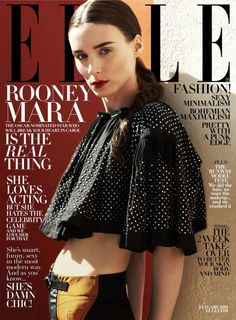 Rooney Mara for ELLE Magazine January 2016