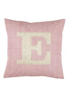 декоративная подушка LETTER E
