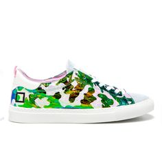 Spring Summer 2015 D.A.T.E. Sneakers Collection / Italian design / ACE FANTASY LED CAMO on-line store: http://bit.ly/1G3ezdp